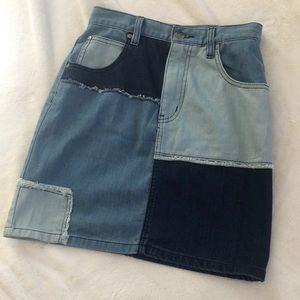 MINKPINK Denim Skirt